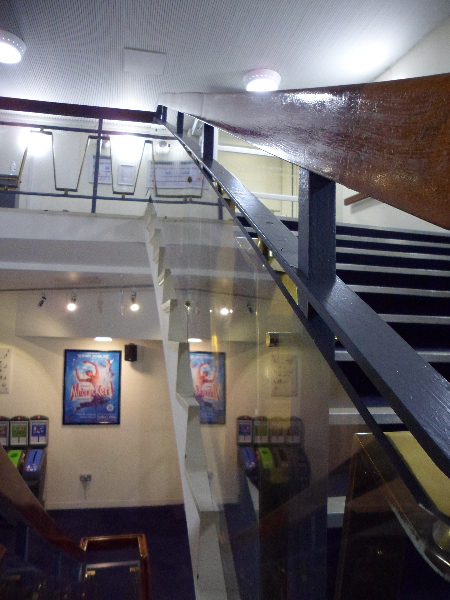 The Peacock Theatre Polycarbonate Balustrade Gallery Gallery