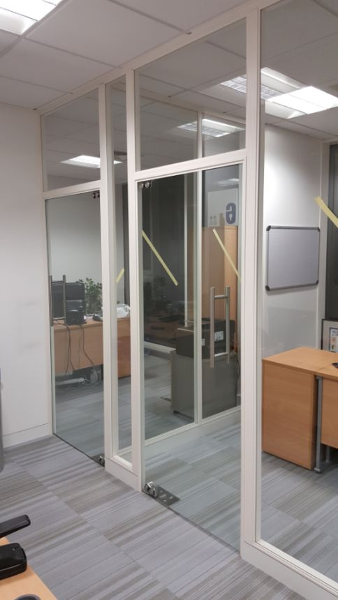glass doors and screens